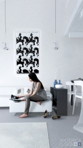 Black-white-decor