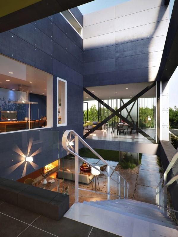 Architecture stylish blinds 1