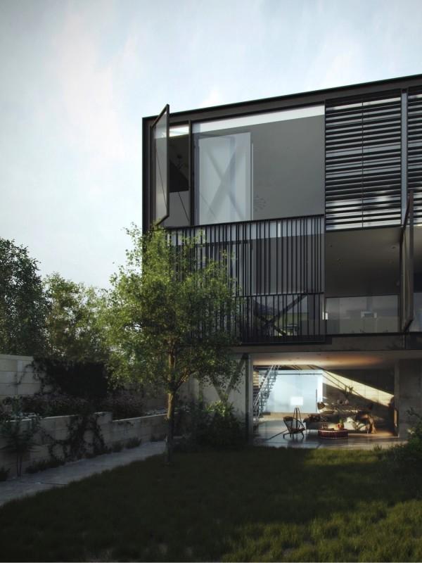 Architecture stylish blinds 4