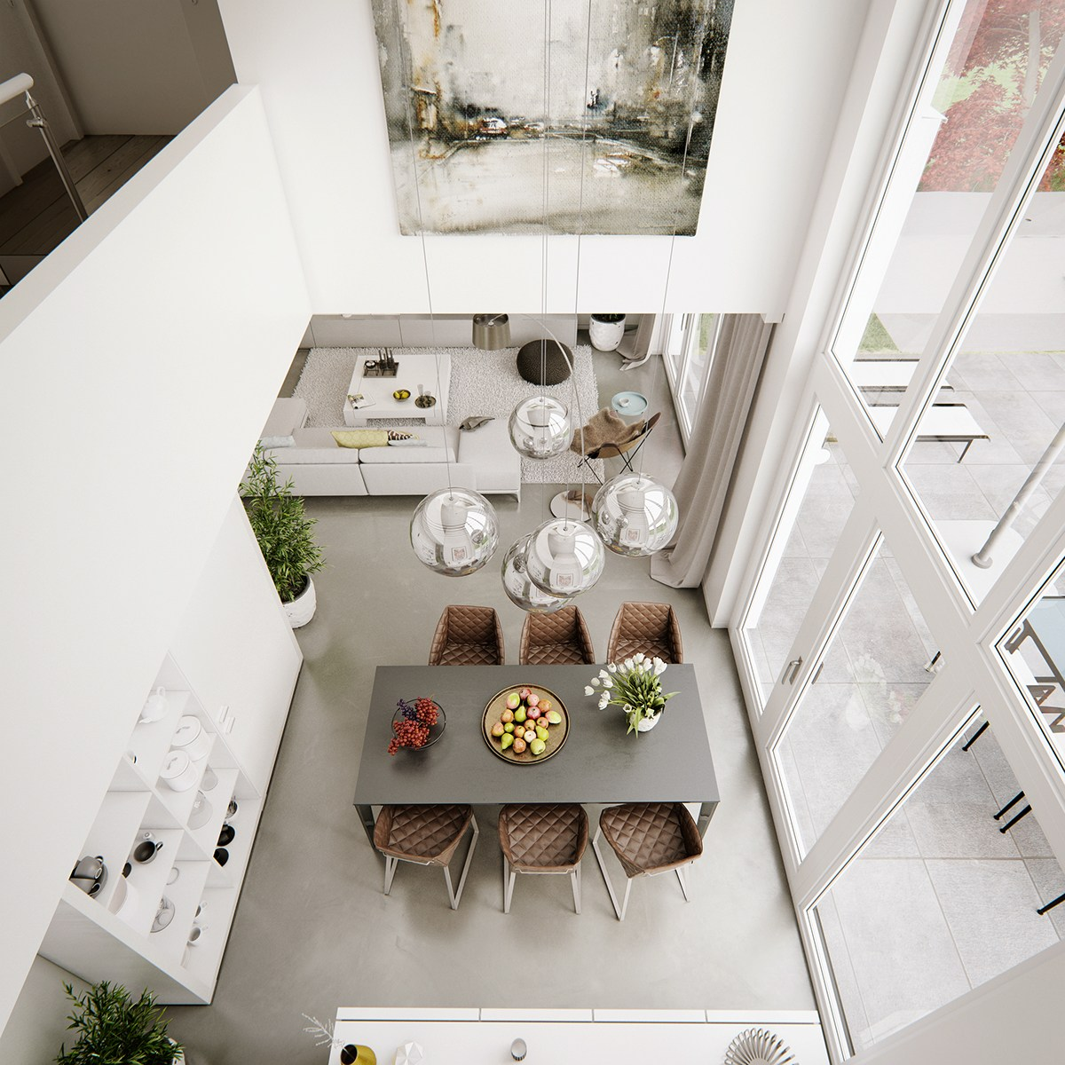 dining-room-atrium-artwork